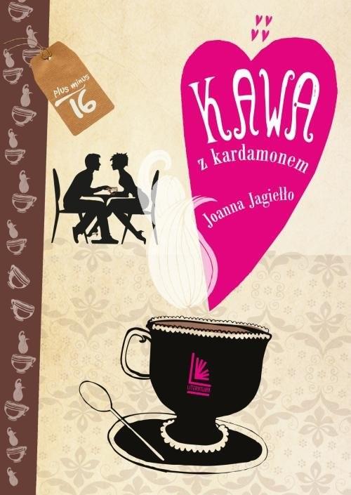 okładka Kawa z kardamonem, Książka   Joanna Jagiełło