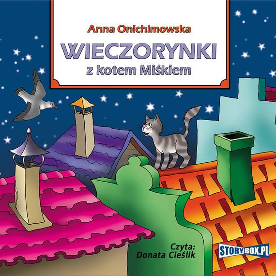 okładka Wieczorynki z kotem Miśkiem, Audiobook | Anna Onichimowska