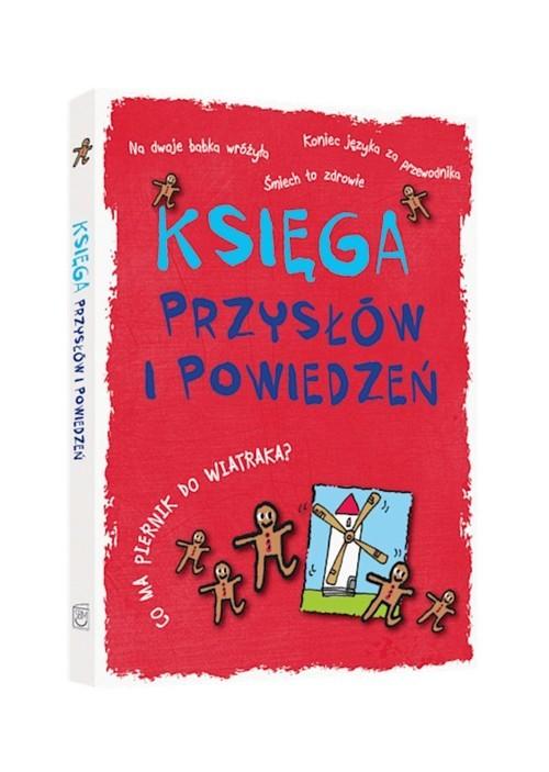 okładka Księga przysłów i powiedzeń, Książka |