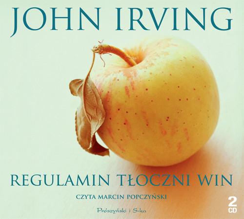 okładka Regulamin tłoczni win, Audiobook | John Irving