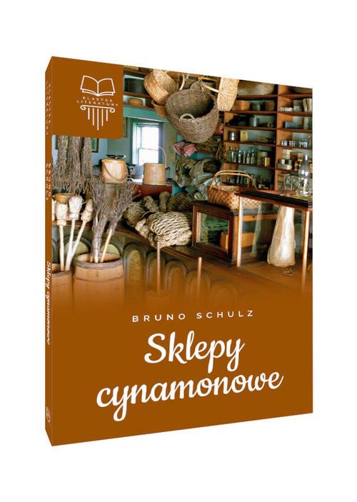 okładka Sklepy cynamonowe, Książka | Bruno Schulz