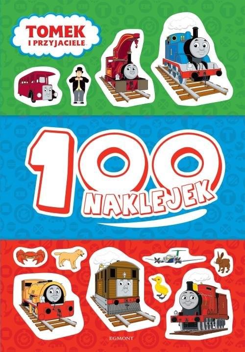 okładka Tomek i przyjaciele 100 naklejek, Książka | Żmichowska Beata