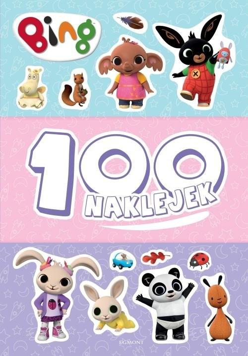 okładka Bing 100 naklejek, Książka | null null