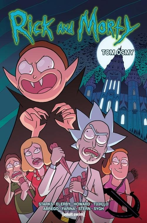 okładka Rick i Morty Tom 8, Książka   Kyle Starks, Tini Howard, Josh Trujillo
