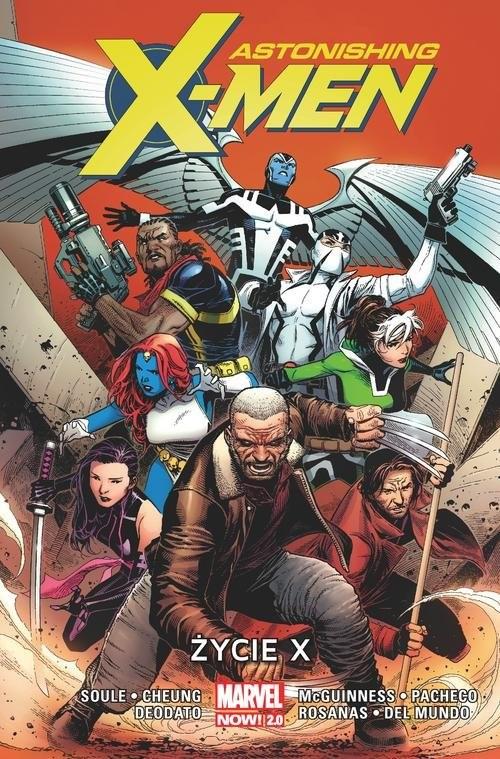 okładka Astonishing X-MenT.1 Życie X, Książka | Charles Soule