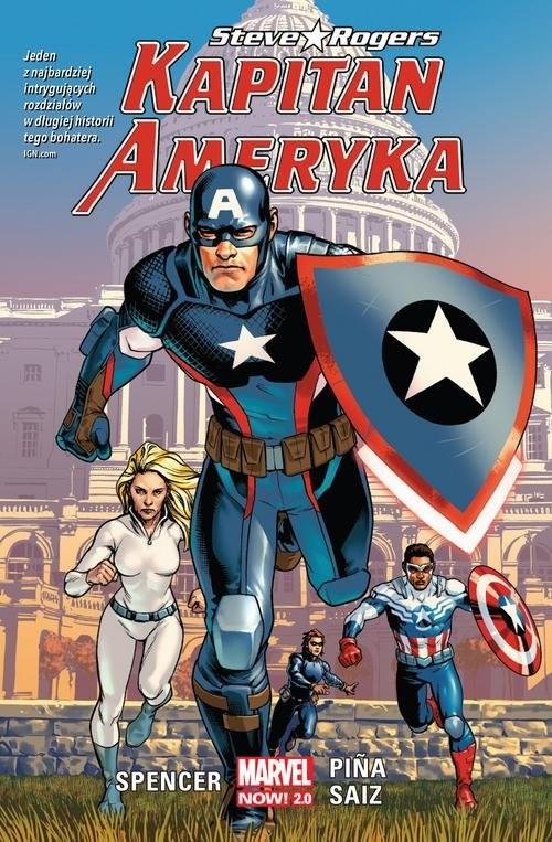 okładka Kapitan Ameryka T.1 Steve Rogers, Książka | Nick Spencer