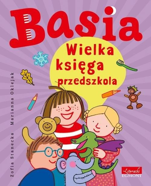 okładka Basia30.00 Wielka księga przedszkola, Książka | Zofia Stanecka