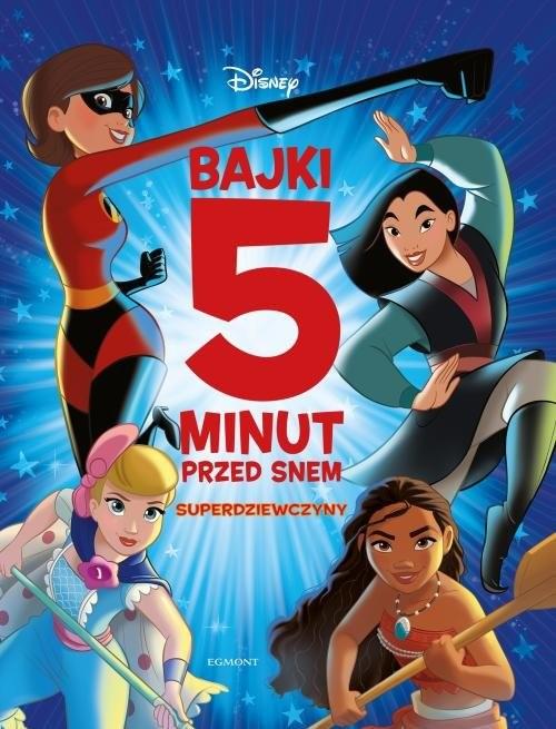 okładka Superdziewczyny Bajki 5 minut przed snem, Książka | null null