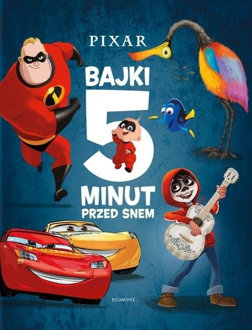 okładka Pixar Bajki 5 minut przed snemksiążka |  | null null