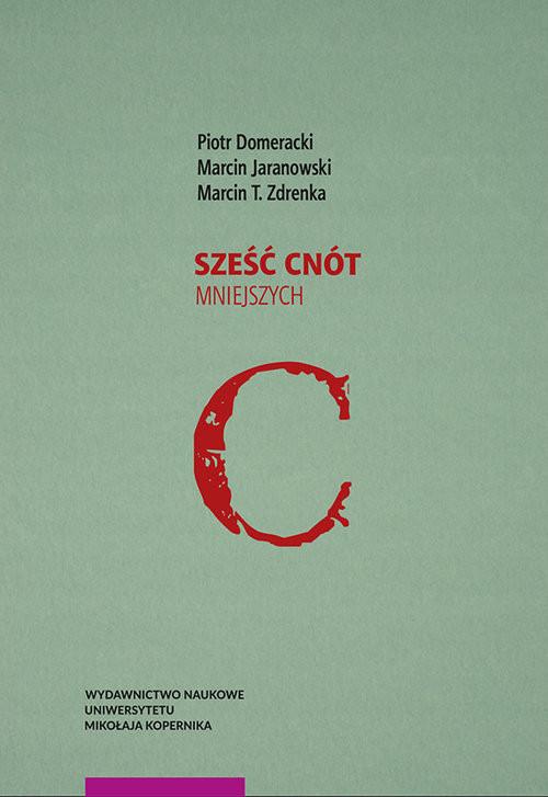 okładka Sześć cnót mniejszych, Książka |