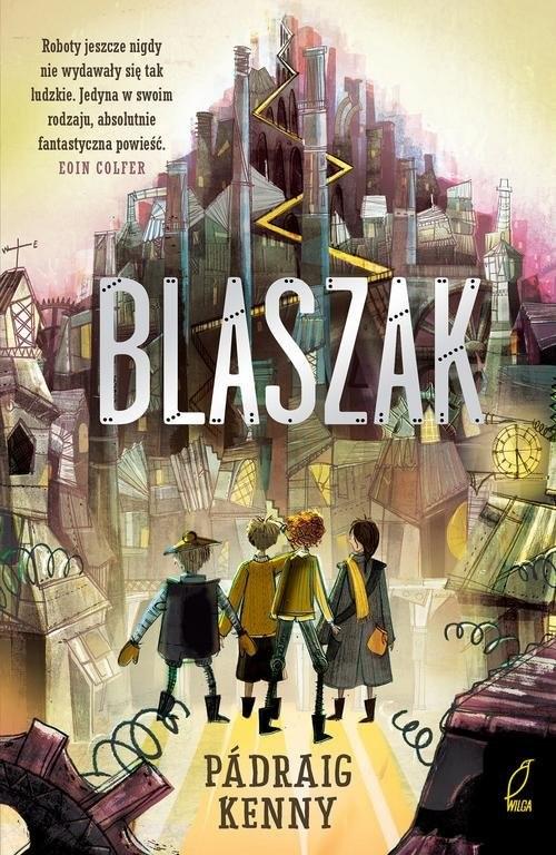 okładka Blaszak, Książka   Kenney Padraig