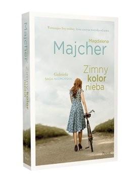 okładka Zimny kolor nieba. Saga nadmorska, Książka | Magdalena Majcher