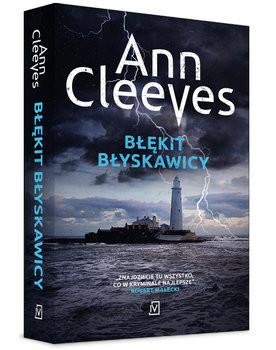 okładka Błękit błyskawicy, Książka | Ann Cleeves