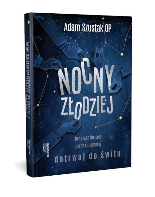 okładka Nocny Złodziej, Książka | Adam Szustak OP