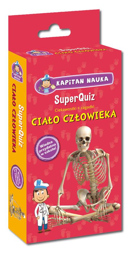 okładka Super Quiz: Ciało człowiekaksiążka |  |