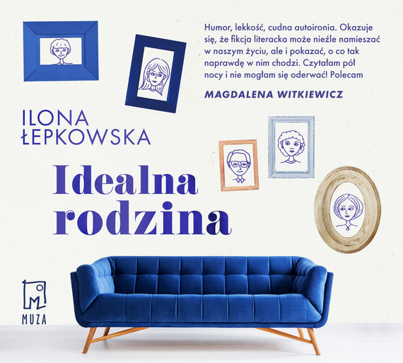 okładka Idealna rodzinaaudiobook   MP3   Ilona Łepkowska
