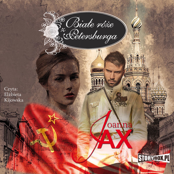 okładka Białe róże z Petersburgaaudiobook | MP3 | Joanna Jax