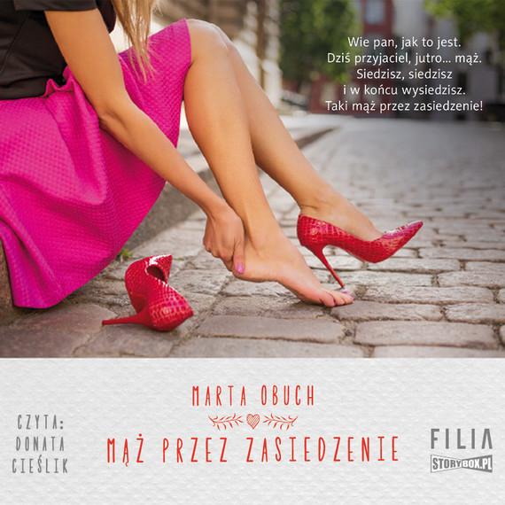 okładka Mąż przez zasiedzenieaudiobook | MP3 | Marta Obuch