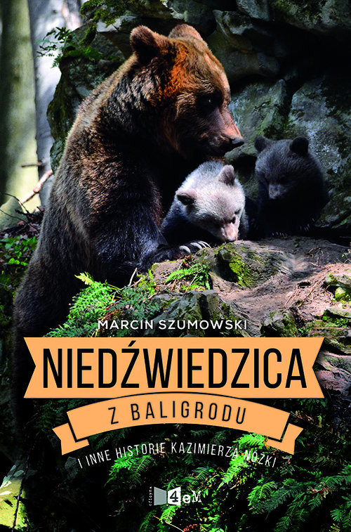 okładka Niedźwiedzica z Baligrodu i inne historie Kazimierza Nóżki, Książka | Marcin Szumowski