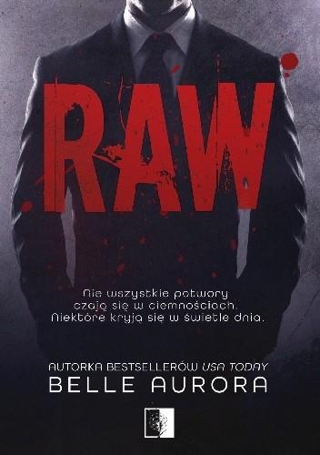 okładka Raw, Książka | Belle Aurora