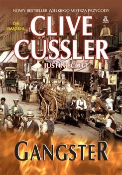 okładka Gangster, Książka | Cussler Clive, Justin Scott