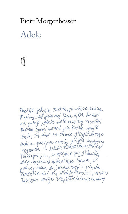 okładka Adele, Książka | Morgenbesser Piotr