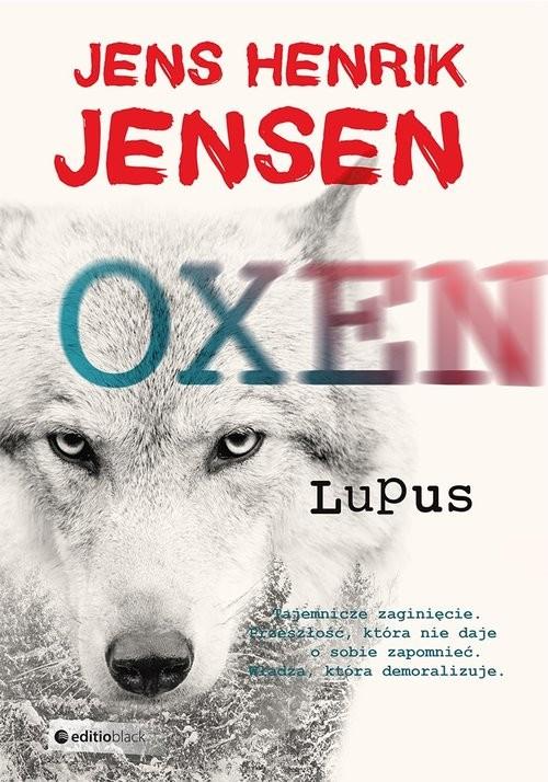 okładka Lupus, Książka   Henrik Jensen Jens
