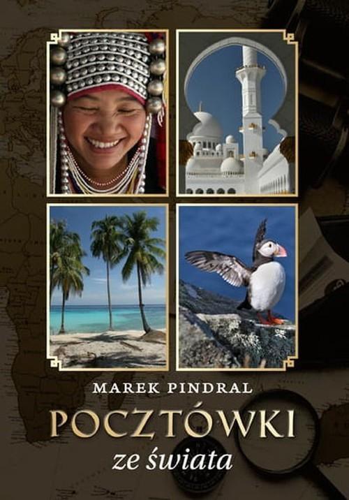 okładka Pocztówki ze świata, Książka | Marek Pindral