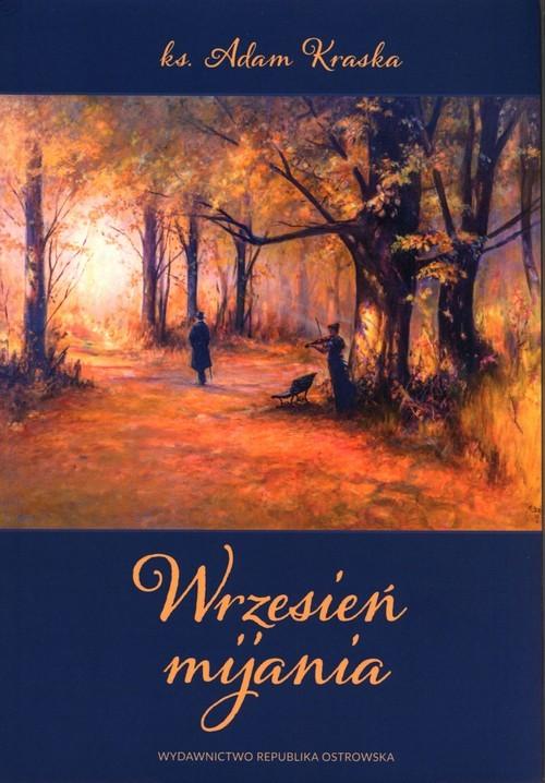 okładka Wrzesień mijania, Książka | Kraska Adam