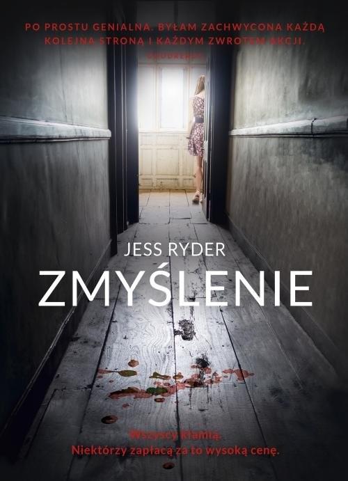 okładka Zmyślenie, Książka | Ryder Jess