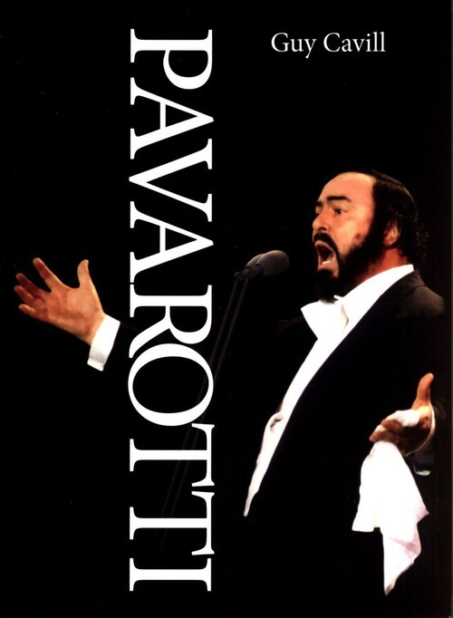 okładka Pavarotti, Książka   Cavill Guy