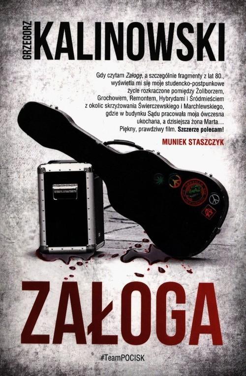 okładka Załoga, Książka   Grzegorz Kalinowski