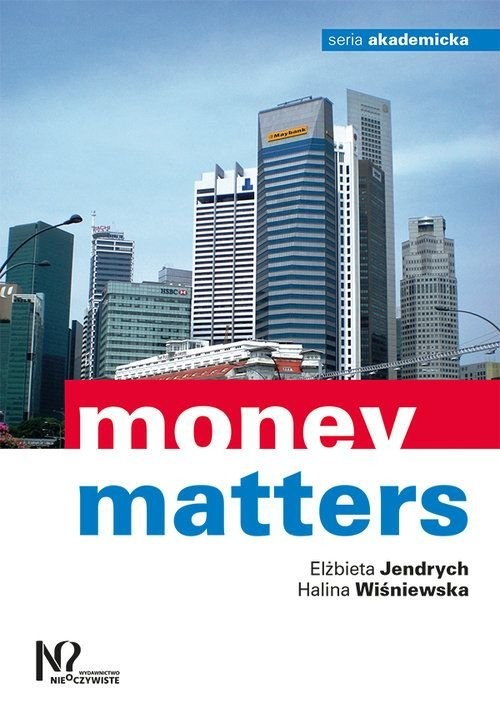 okładka Money matters, Książka   Elżbieta Jendrych, Halina Wiśniewska