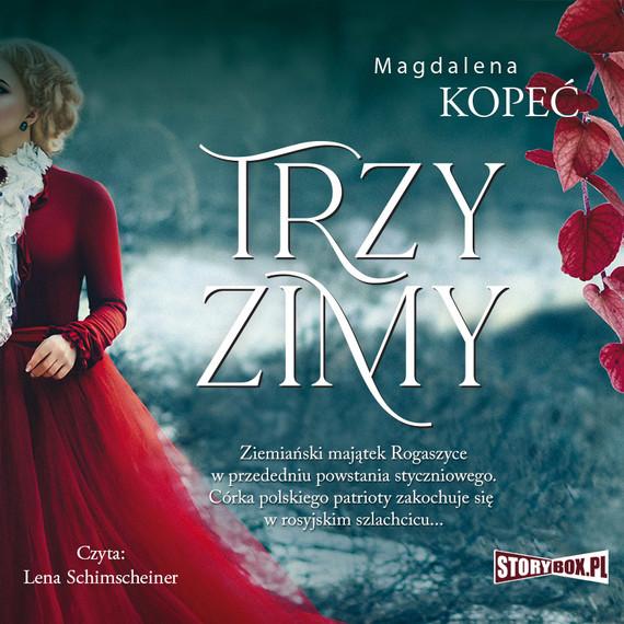 okładka Trzy zimyaudiobook | MP3 | Magdalena Kopeć