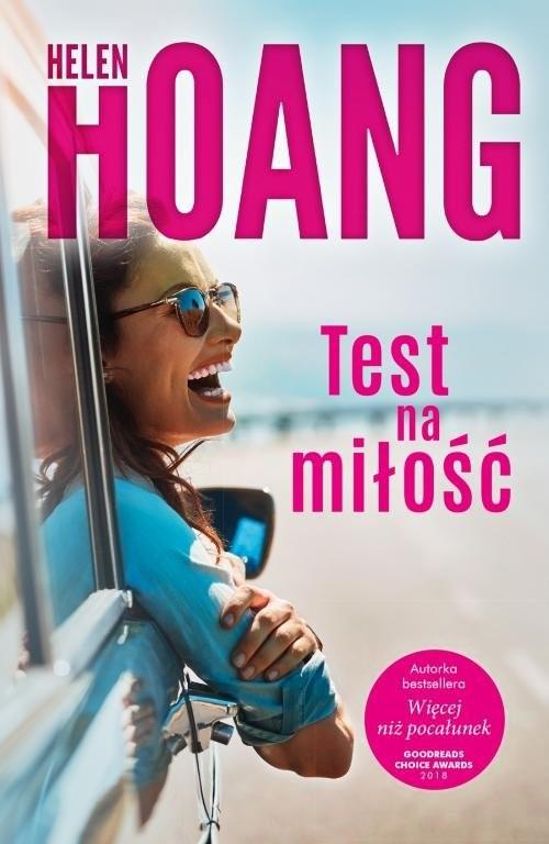okładka Test na miłość, Książka | Hoang Helen