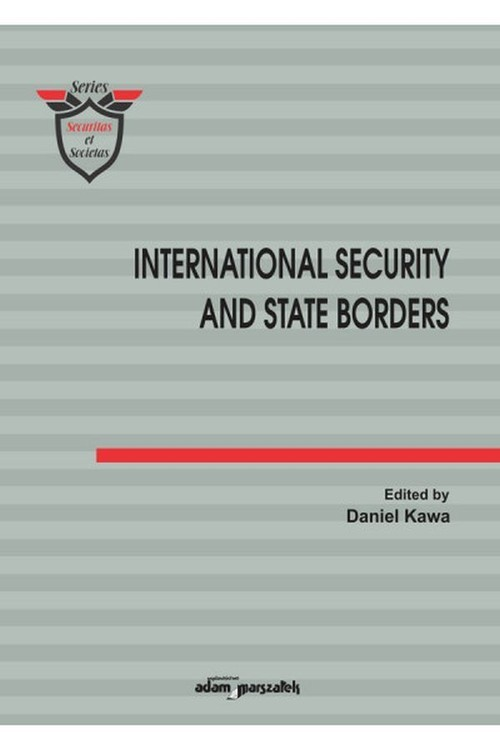 okładka International Security and State Bordersksiążka |  |