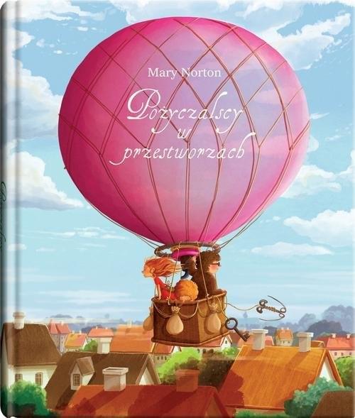 okładka Pożyczalscy w przestworzach, Książka   Norton Mary