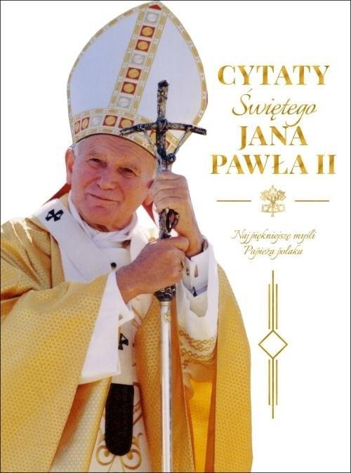 okładka Cytaty św. Jana Pawła IIksiążka     