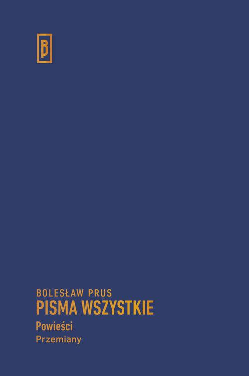 okładka Przemiany, Książka | Bolesław Prus
