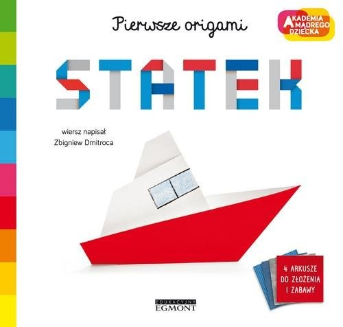 okładka Statek Pierwsze origami AMD, Książka   Dmitroca Zbigniew