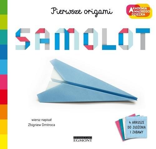 okładka Samolot Pierwsze origami AMD, Książka   Dmitroca Zbigniew