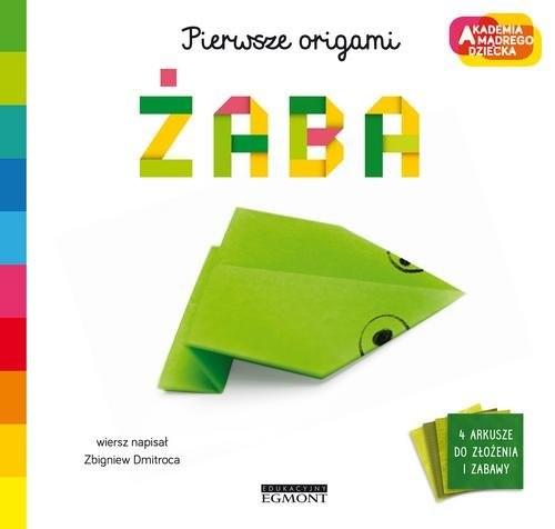 okładka Żaba Pierwsze origami AMD, Książka | Dmitroca Zbigniew