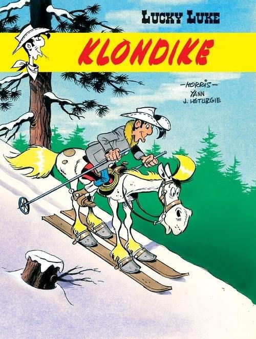 okładka Lucky Luke Klondike, Książka | Jean Leturgie, Yann