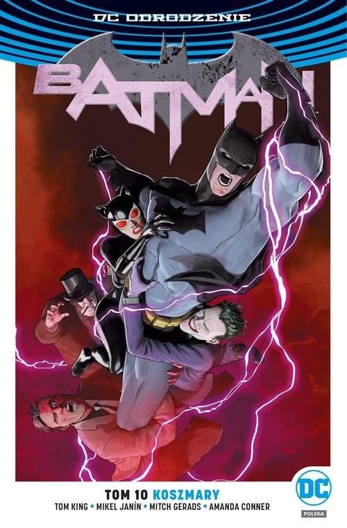 okładka Batman T.10 Koszmary / DC Odrodzenie, Książka   Tom King