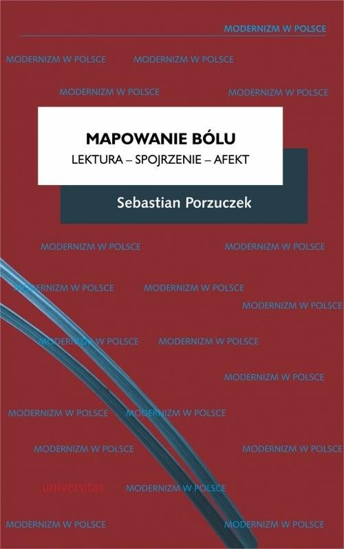 okładka Mapowanie bólu Lektura - Spojrzenie - Afekt, Książka | Porzuczek Sebastian