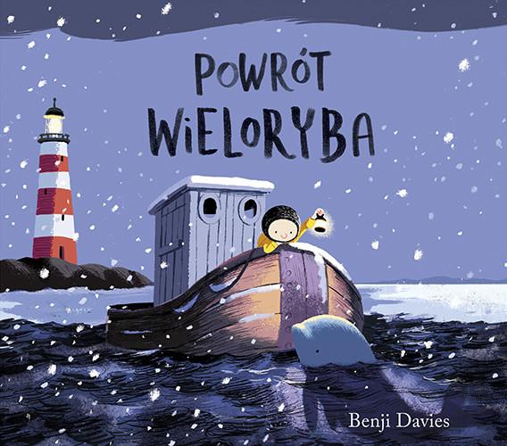 okładka Powrót wieloryba, Książka   Davies Benji