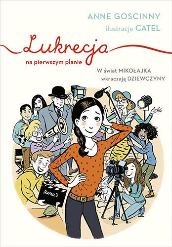 okładka Lukrecja na pierwszym planie, Książka | Goscinny Anne