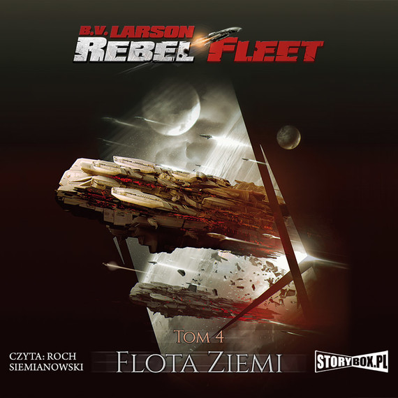 okładka Rebel Fleet. Tom 4. Flota Ziemiaudiobook | MP3 | B.V. Larson