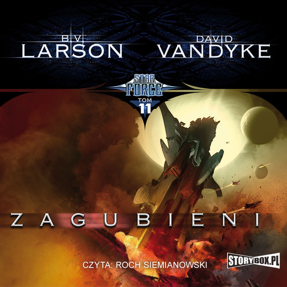 okładka Star Force. Tom 11. Zagubieni, Audiobook | B.V. Larson, David VanDyke