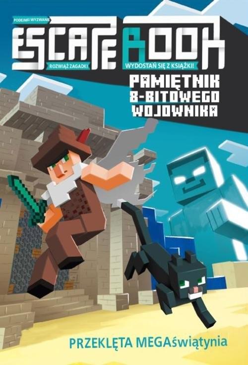 okładka Escape book Przeklęta MEGAświątynia. Tom 1, Książka | Cube Kid, Alain Puyssegur